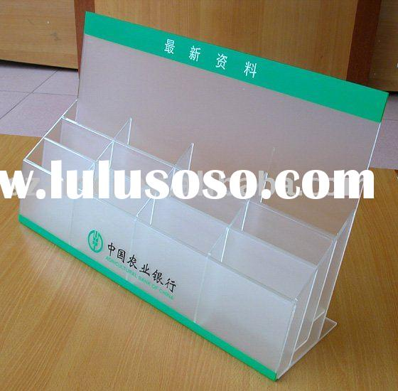 top quality acrylic table stand,table holder
