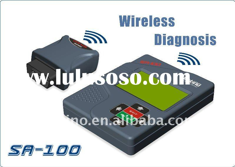 vehicle diagnostic tool OBD II car scanner SA-100 for Spanish, English, French, Dutch, German, Russi