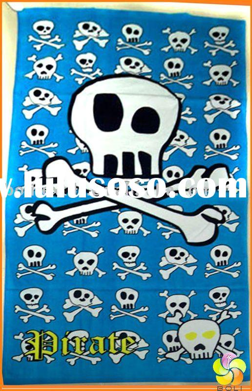 vintage cotton beach towel