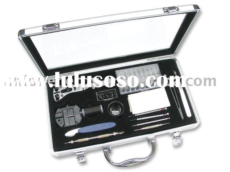 watch tool set with screwdriver and spring bar tool