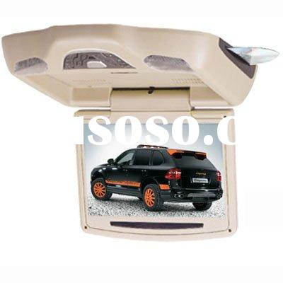 """10.2"""" FLIP-DOWN CAR DVD player /Roof mount with DVD Player, Monitor +TV+AV+FM+ SD+USB Automatic"""
