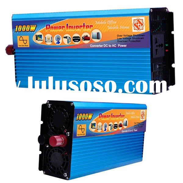 12V 220V Pure Sine Wave Power Inverter (1000W )