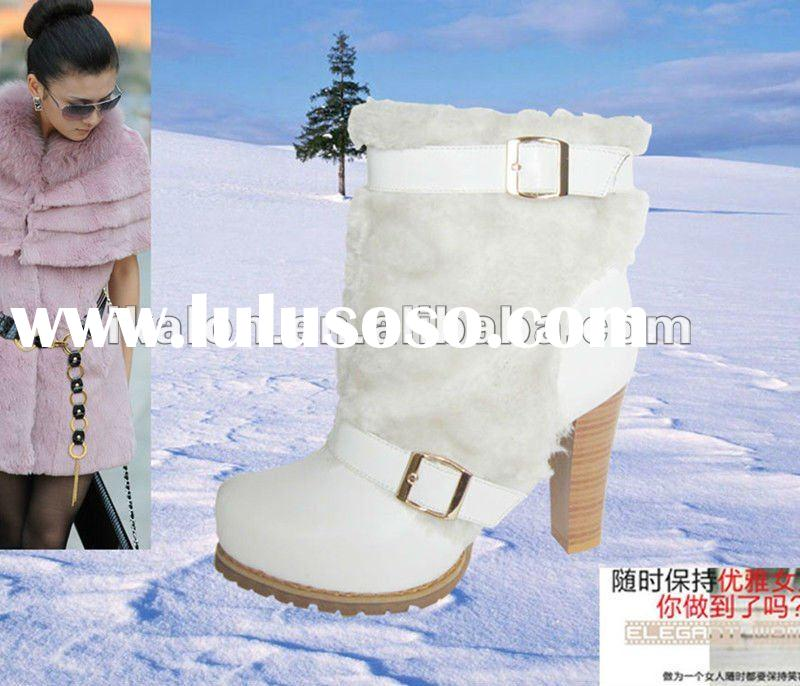 2012 Womens Winter Ankle Fur Boots