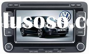 2 Din Car DVD Player for tiguan/passat with DVB-T,Can Bus,GPS,RDS,Dual Zone,Ipod,USB, Same full stee