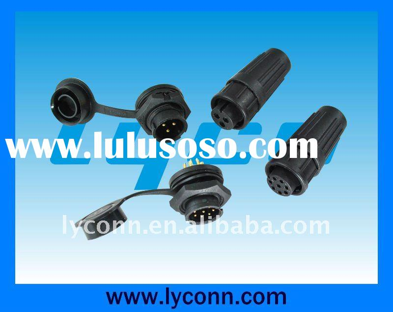 3Pin 4Pin 5pin 6pin 7pin 8pin Waterproof connector for molding cable