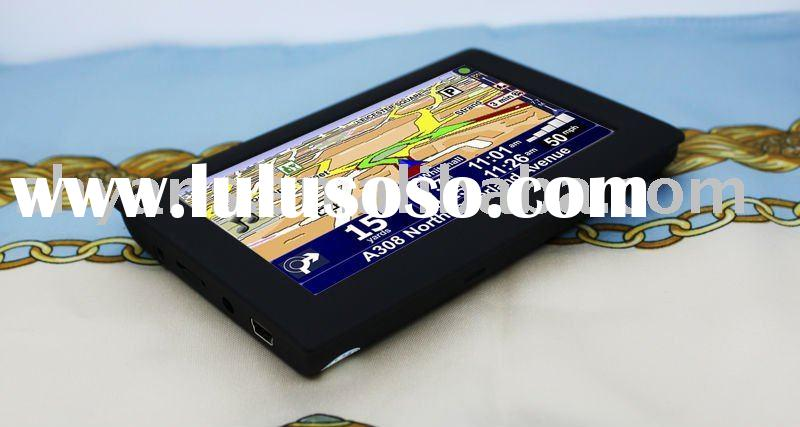 4.3 inch Portable sat nav Navigation Touch Screen with New Maps
