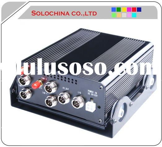 4 channel car video recorder with gps and 3g for taxi,buses.trucks