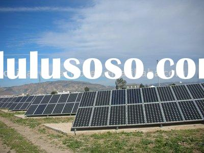 5000w grid tie solar system for home use(solar module+inverter+cable connector+mounting)