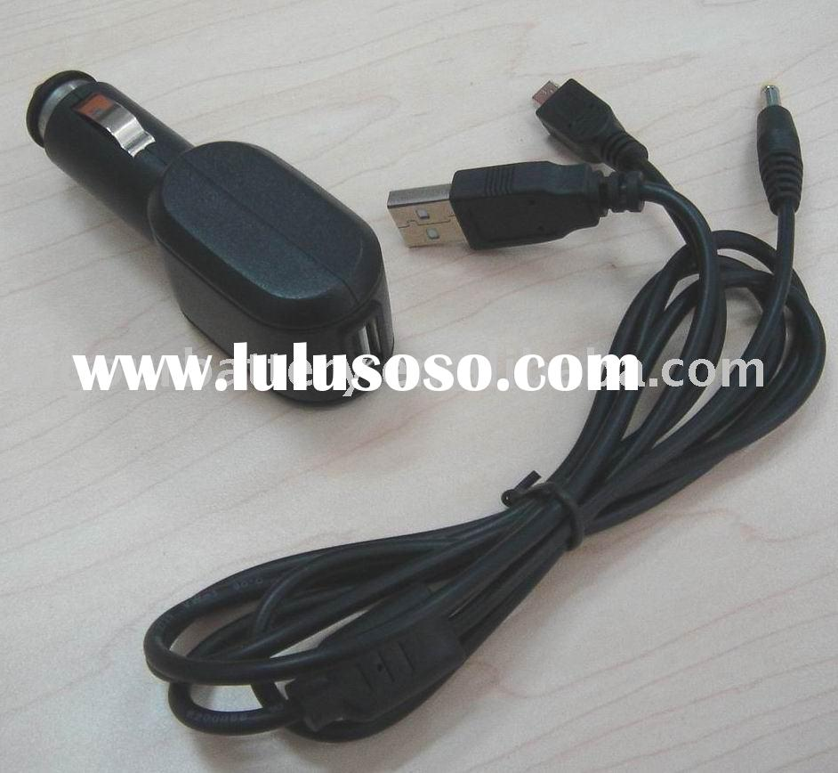 5V 2 A laptop car charger ,MP3 MP4 car charger with USB connector ,notebook car charger