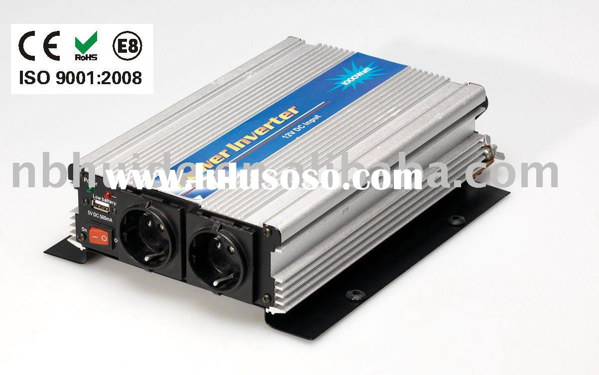 600-1500W power inverter with double sockets(CE, EMAKE,RHOS,REACH approval)