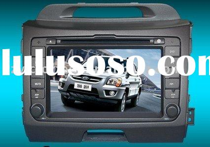 "7"" car DVD system for KIA NEW Sportage 2011 with GPS PIP"