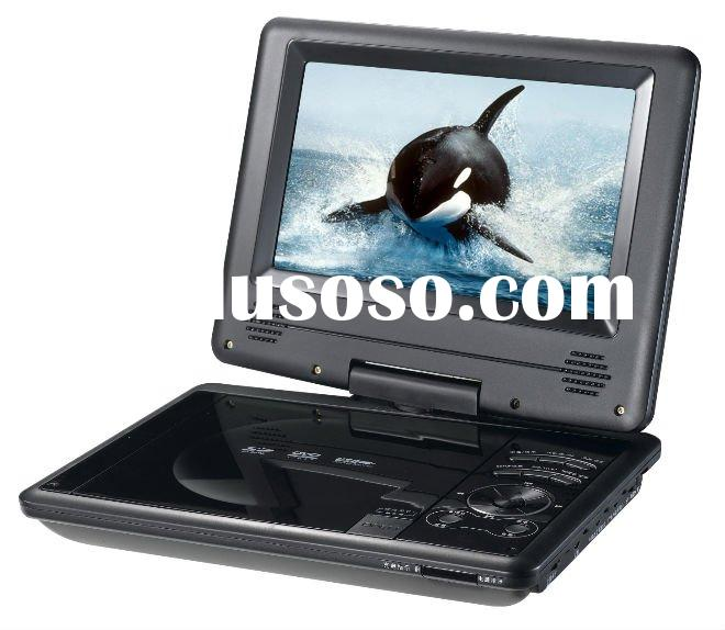 7 inch portable DVD player with FM Radio function