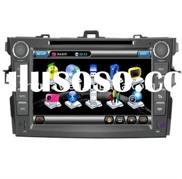 8 inch car DVD GPS for Toyota Corolla 2007-2011