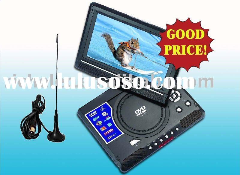 9 inch Portable dvd player with tv and game and FM