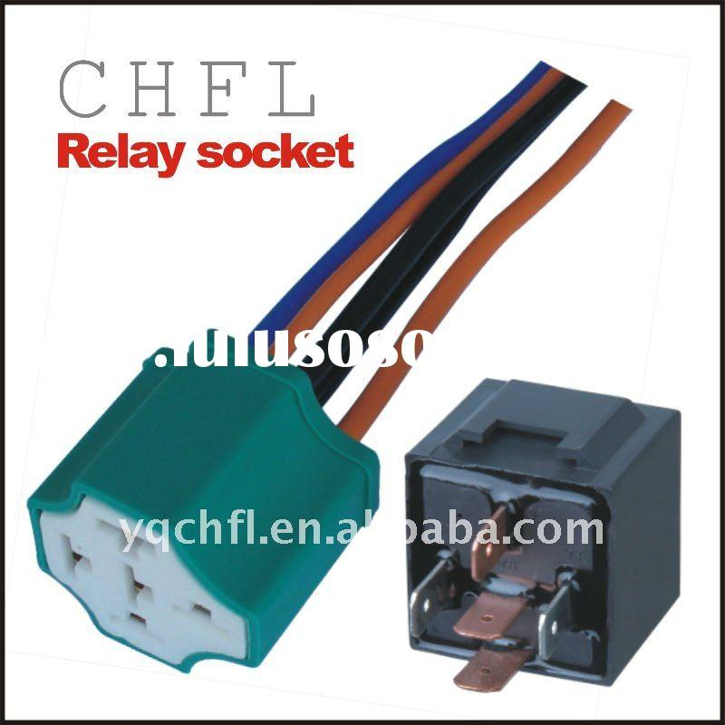 Auto Relay Socket ( Socket for Automotive Lighting Wiring Harness )