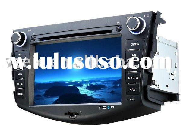 Blue-ray DVD with GPS and TV 7 inch for TOYOTA RAV4 car video