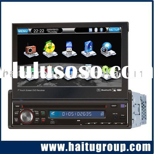 "Car DVD System, Car DVD/GPS+DVB-T with 7""motorized panel"