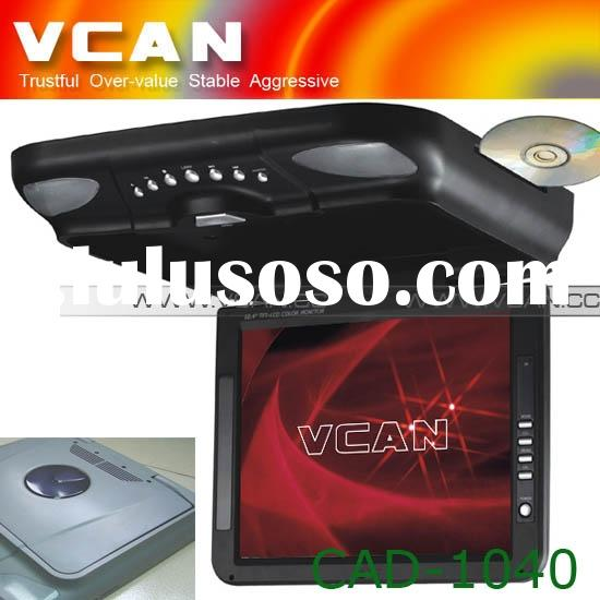 Car dvd, 10.4 inch roof mount car media player with TFT LCD monitor