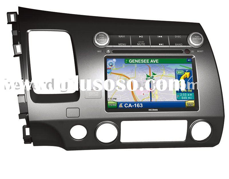 Car dvd player for HONDA CIVIC with steering wheel control
