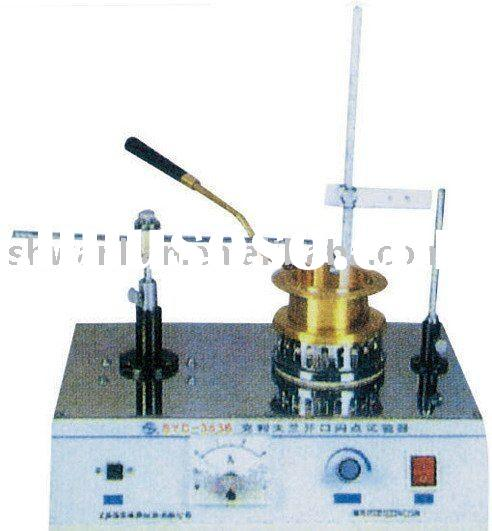 Cleveland Open Cup Flash Point Tester/ Cleveland Flash Point Apparatus