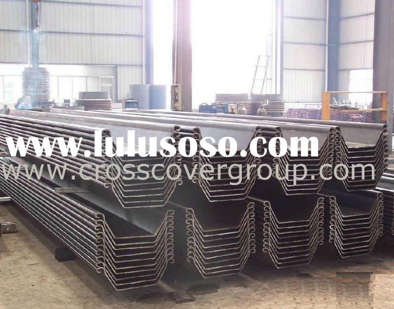 Cold-rolled WRU Steel Sheet Piling