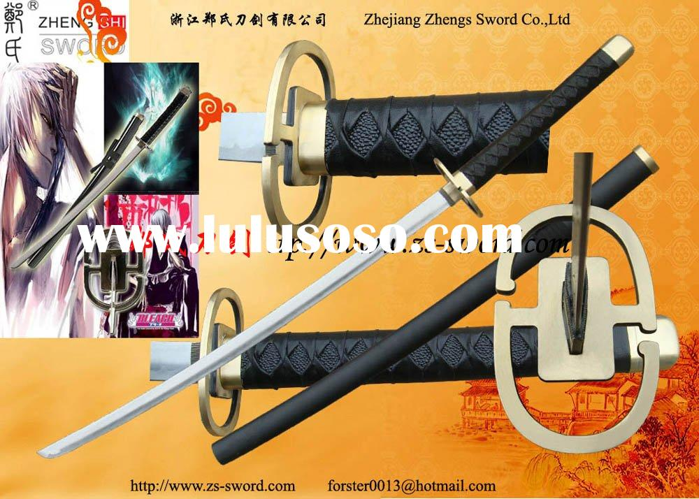 Cosplay Bleach Real Steel Sword-Bleach Gin Ichimaru Shinso Katana