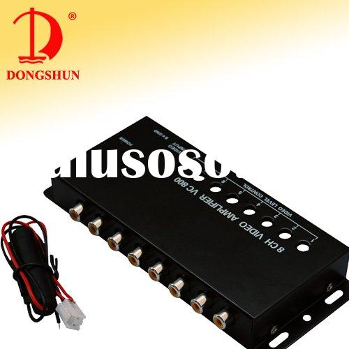 DS-128 8 ways car video amplifier
