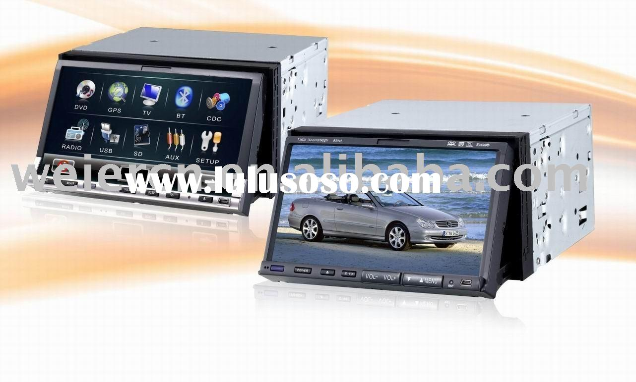 Double din size TFT LCD Car DVD Player