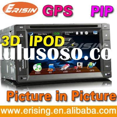 "Erisin 6.2"" HD Car audio System DVD Touchscreen TV Radio RDS GPS CD/USB/SD"