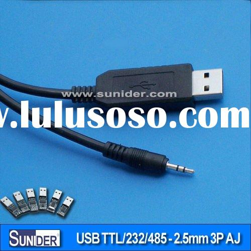 FT232/CP2102/PL2303 USB serial - 2.5mm jack cable