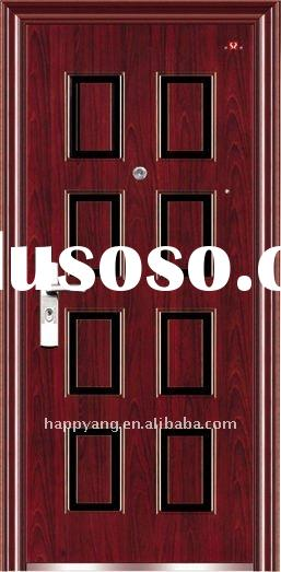 HOT 2012 NEW high quality and cheap SECURITY STEEL DOOR ss-505 through ISO9001