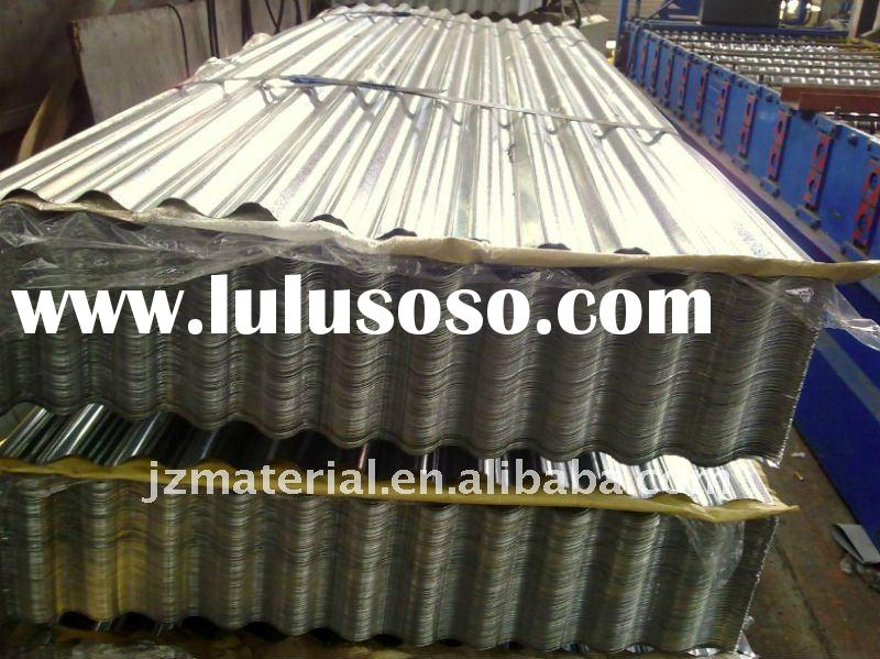 HOT PREPAINTED/GALVANIZED/GALVALUME/ALUMINUM CORRUGATED TRAPEZOIDE ROOF STEEL SHEET/TILE SHEET