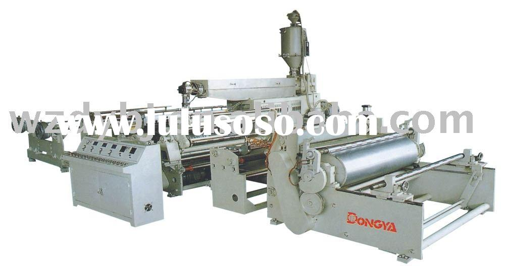 High Speed Extrusion Plastic Film Laminating Machine / Film Laminating Machine