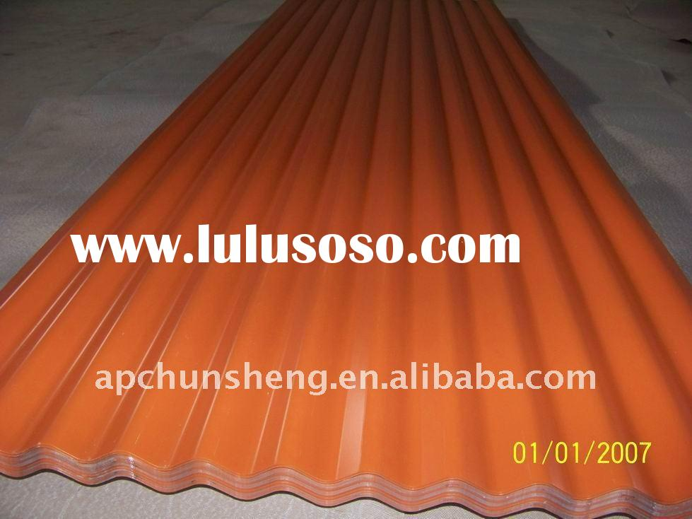 IBR Corrugated Steel Roofing Sheets (factory)