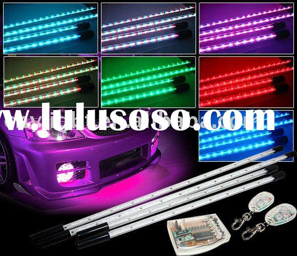 LED Under car kits with Wireless remote controller