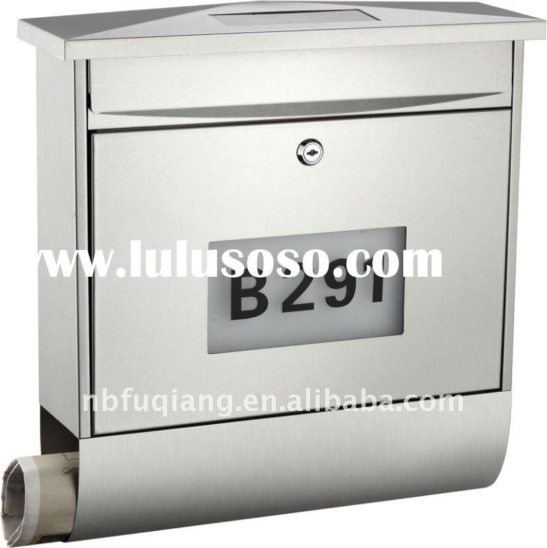 Mailbox,letter box,mail box,post box,postbox,letterbox,stainless steel letter box,newspaper box,sola