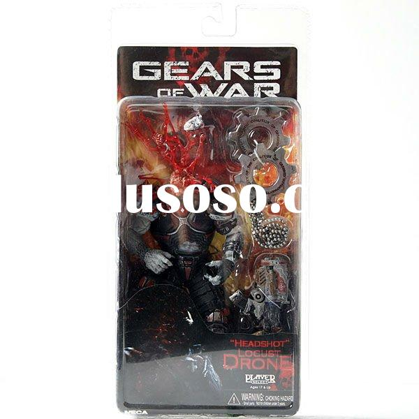 NECA 2011 Gears of War Headshot Locust Drone action plastic PVC Xbox360 Game Figure