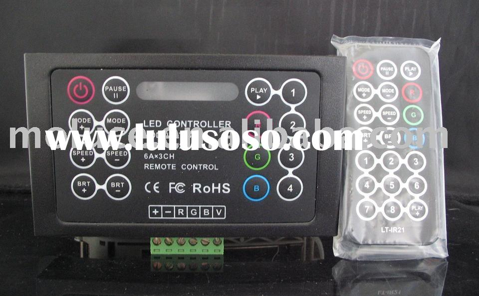 RGB and dimmable effect receiver (Led dimmer, RGB control system, Led Driver and Power Supply)