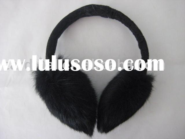 Rabbit Fur Ear Muff