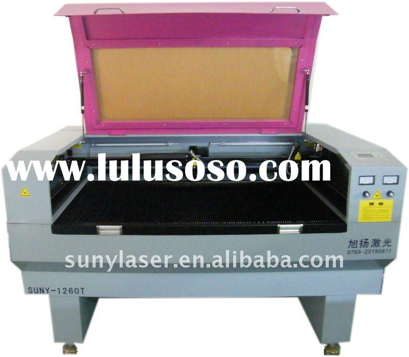 Suny-1260 80w double heads laser cutting machine, laser engraving machine,laser cutter,laser engrave