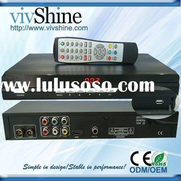 Support SD & HD MPEG-2/4 DVBT-HD3 HD RECEIVER