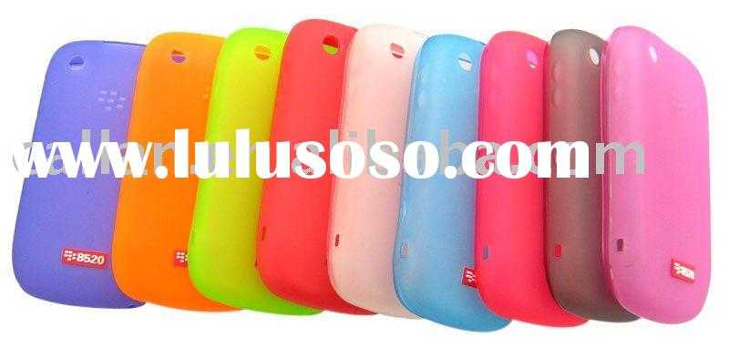 TPU case for Blackberry Curve 8520/mobile phone accessories