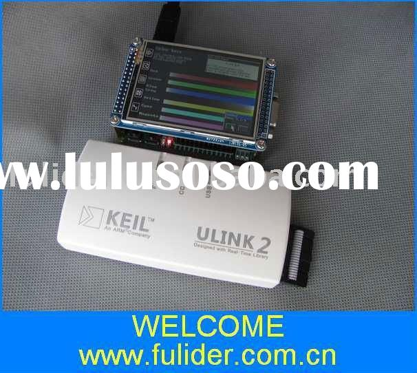 ULink + ARM STM32F103RBT6 development board with 2.8 inch TFT touch screen