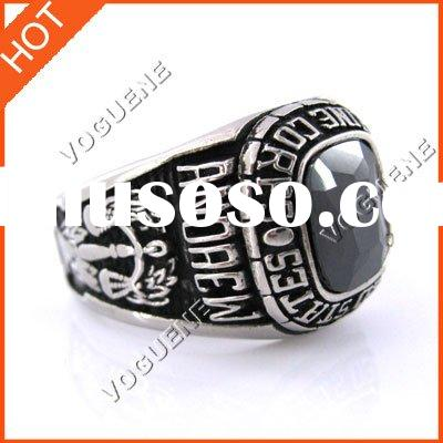 UNITED STATES MARINE CORPS STAINLESS STEEL RING