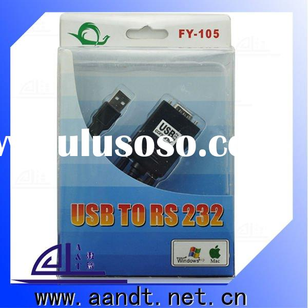 USB to RS232 converter with driver disc