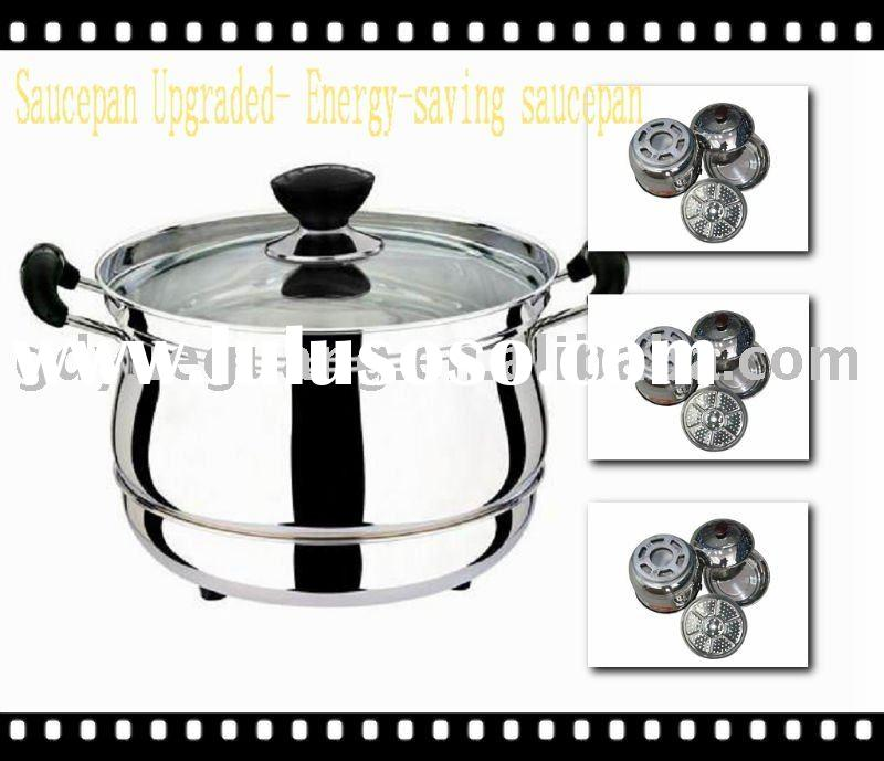 [Cookware Upgrading] Energy-saving stainless steel pots and pans