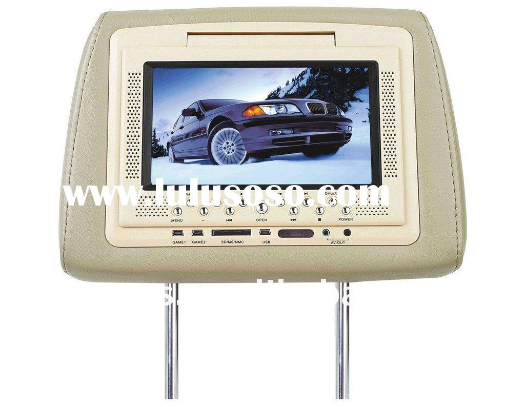 (Popular)7''Car Audio System With Headrest Car DVD