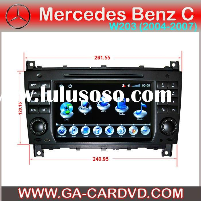car dvd for Mercedes Benz C-Class W203 (2004-2007) with bluetooh and GPS