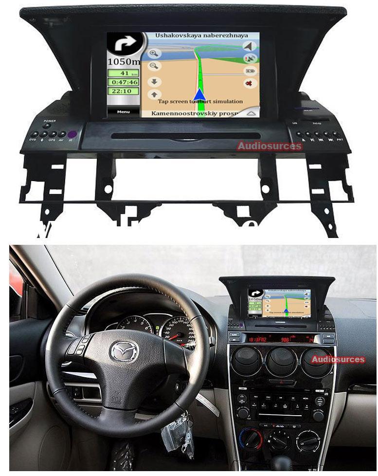 car gps navigation system for MAZDA 6 (AS-7109G)