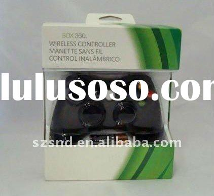 for video game XBOX360 wireless controller(Black) / video game controller for XBOX360